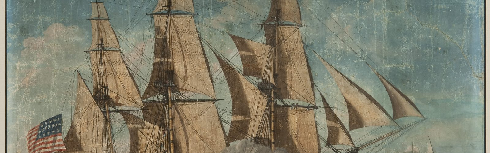"""USS Constitution Painting 