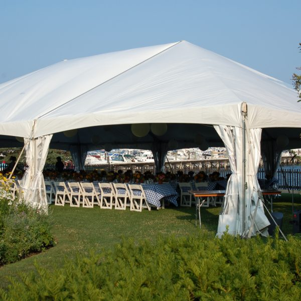Site Rentals | White Tent Setup | Plan Your Event