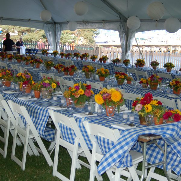 Seaside Garden Outdoor Event | Plan Your Event