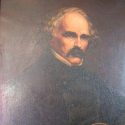 Nathaniel Hawthorne painting