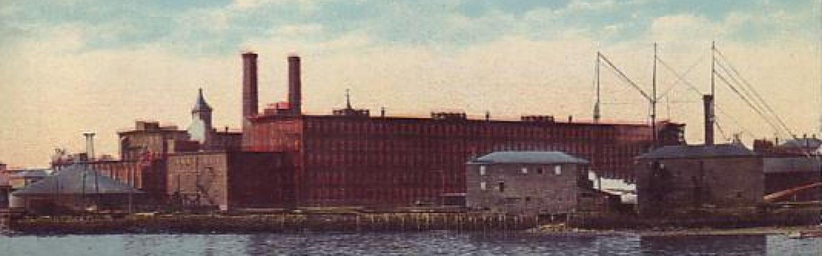 Naumkeag Steam Cotton Company Plant