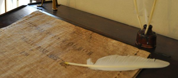 Old Feather Quill and Parchment | Newsletter Archive