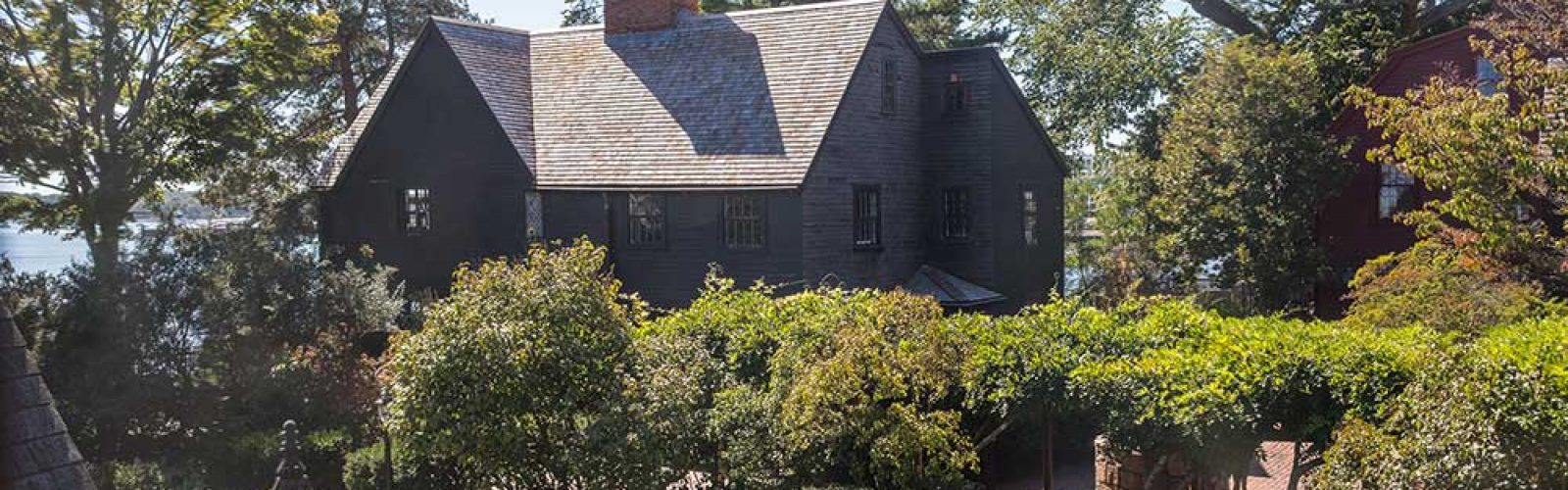 Photo of Garden Side View of the House of Seven Gables | Annual Fund