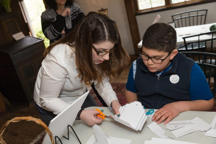 Hands-on history at The Gables