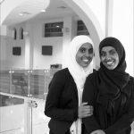 Sudan Kehiria Maruf, left, and her twin sister, Kadra Maruf