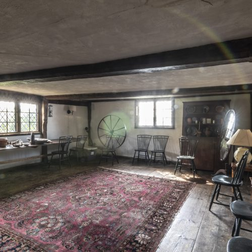 Great room of the Hooper Hathaway House