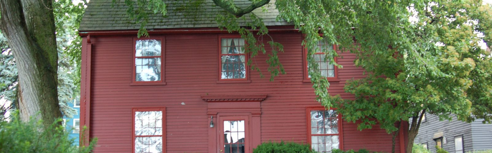 The Nathaniel Hawthorn Birthplace on the campus of The House of the Seven Gables.