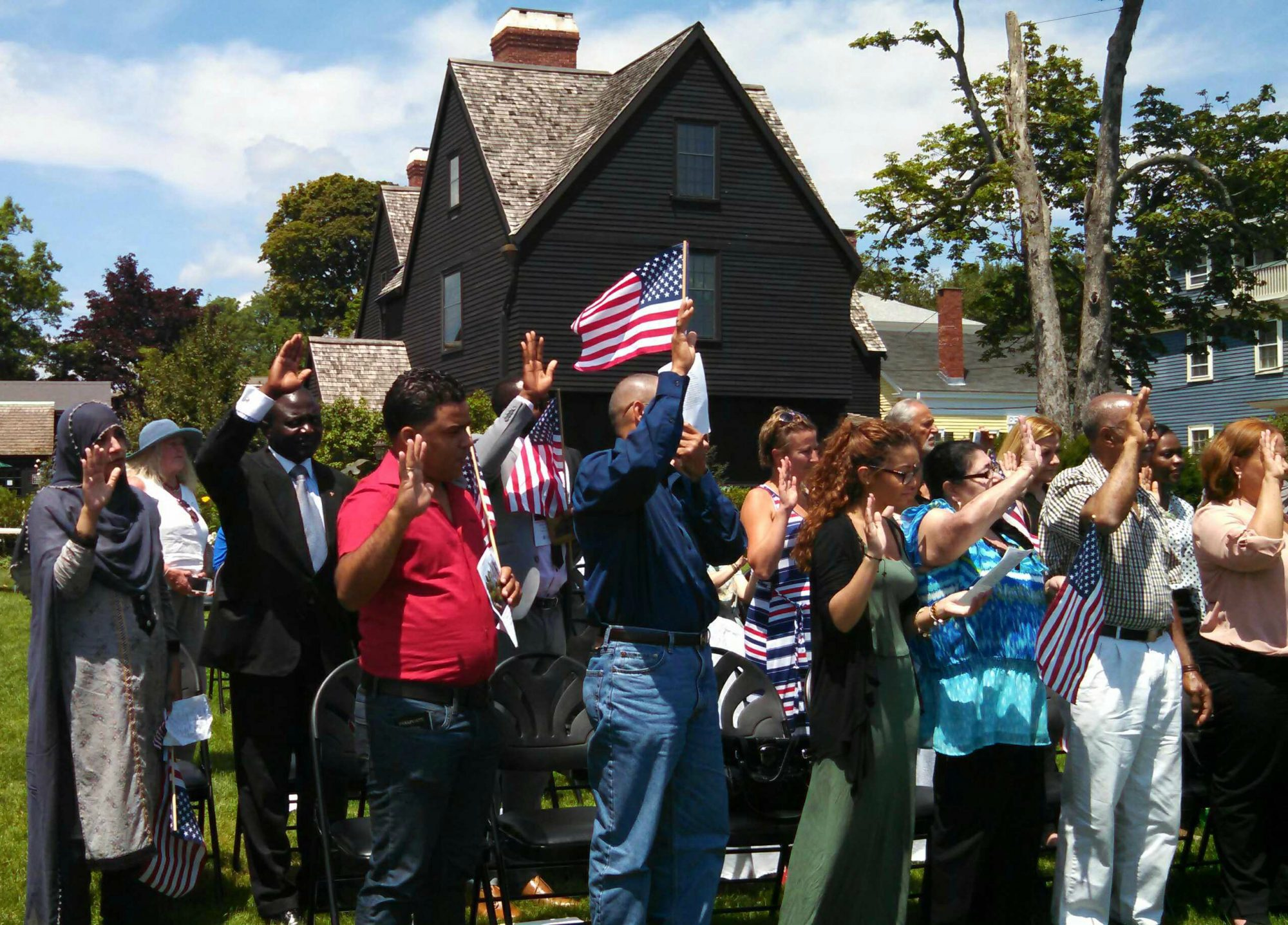 Naturalization Ceremony - The House of the Seven Gables