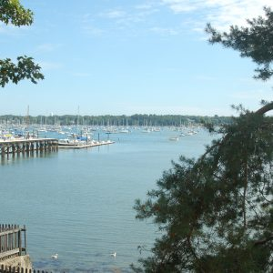 View of Salem Harbor from up high