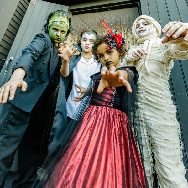 Little Monsters invade The House of the Seven Gables