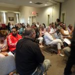 Participants in a Community Conversation at The House of the Seven Gables