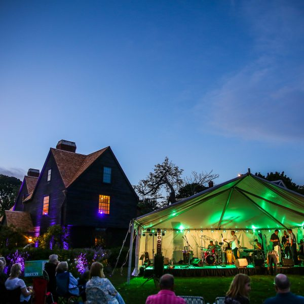 Gables Fest tent and house by John Andrews Photography