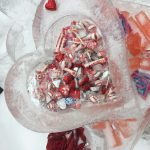 Ice sculpture filled with candy at The House of the Seven Gables