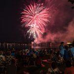 Fireworks over Salem Harbor