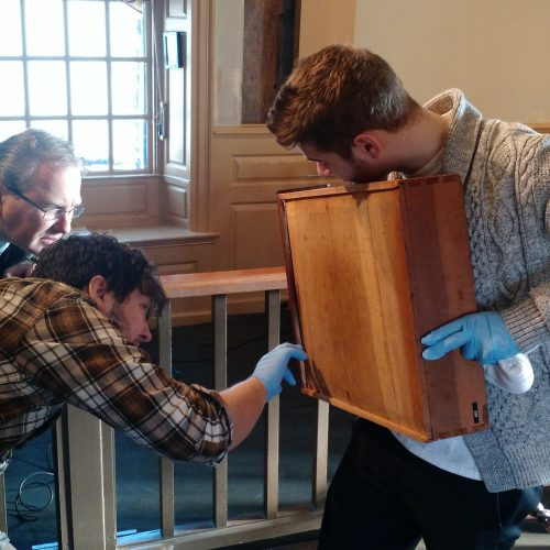 The House of the Seven Gables actively cares for the site's collections