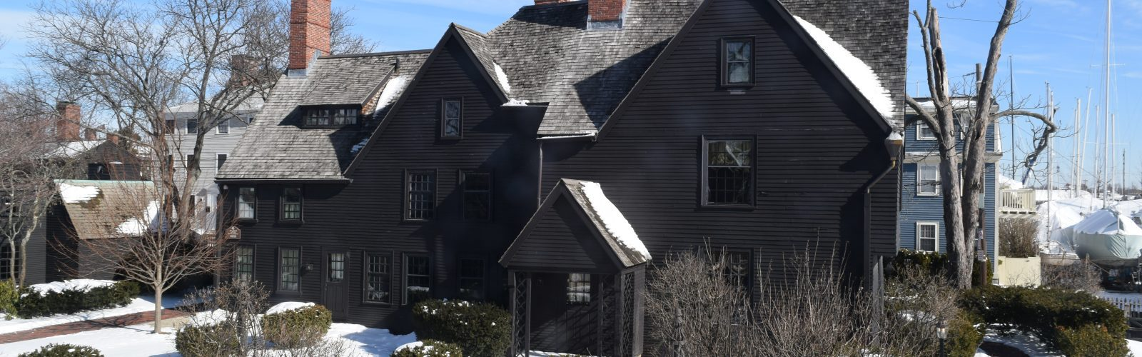 Winter image of The House of the Seven Gables