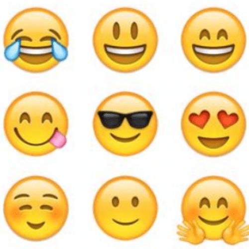 Emoji collage