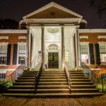 Salem Athenaeum at night