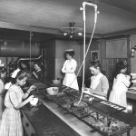 Cooking class at The House of the Seven Gables Settlement House