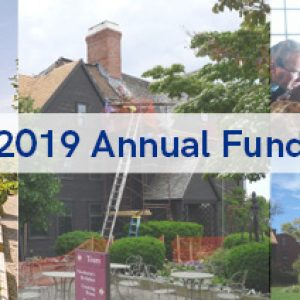 2019 Annual Fund Heading The House of the Seven Gables