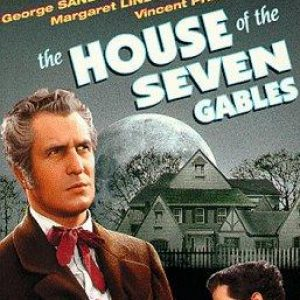 DVD Cover from the 1940 The House of the Seven Gables