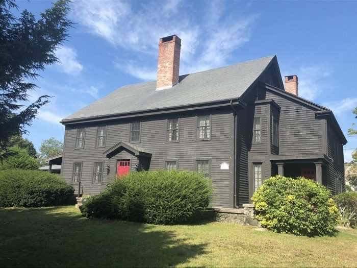 The historic John Proctor House in Peabody
