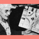 Lizzie Magie and an early Monopoly board