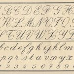 A primer with cursive writing