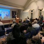 Diane Portnoy speaks at The House of the Seven Gables