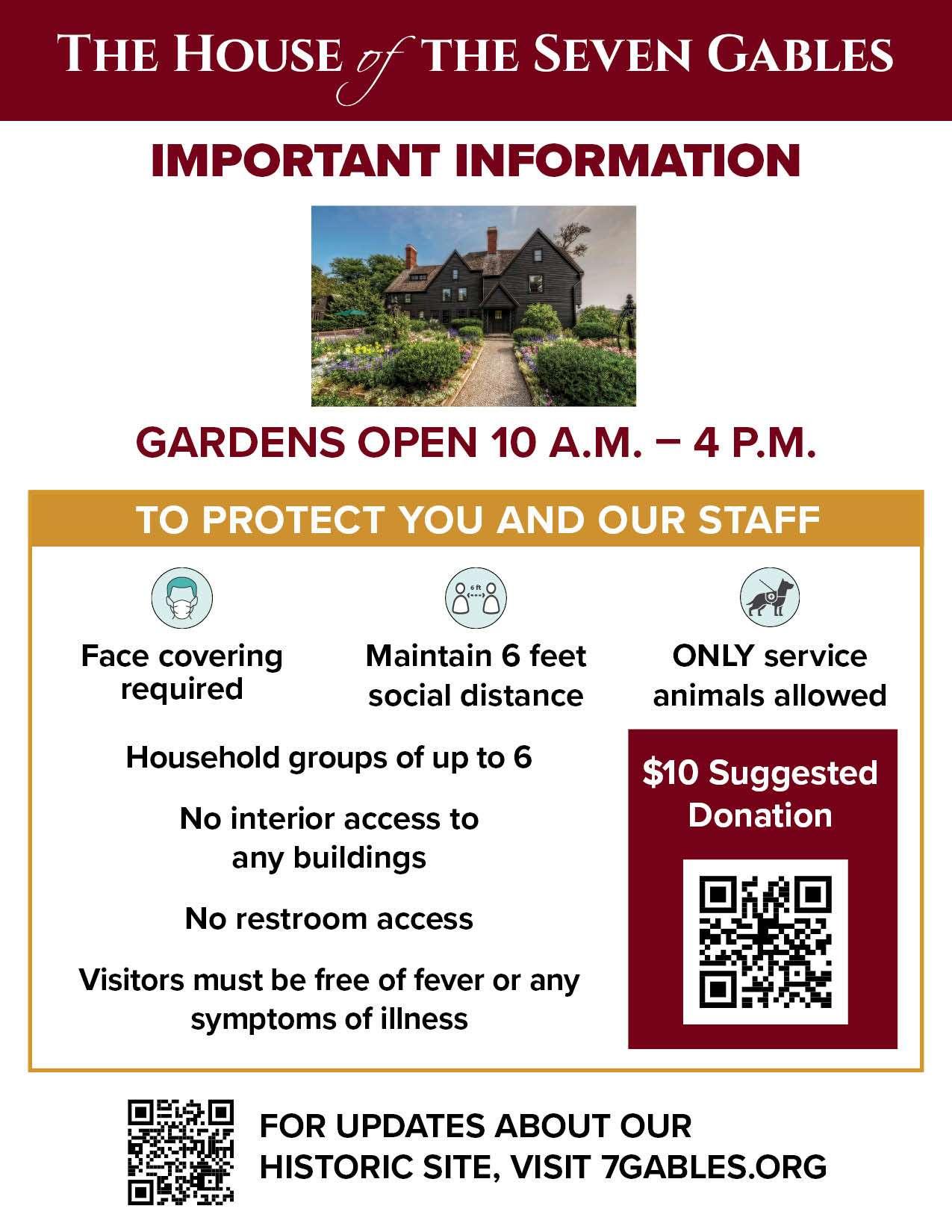 June 1 Reopening Gardens Information