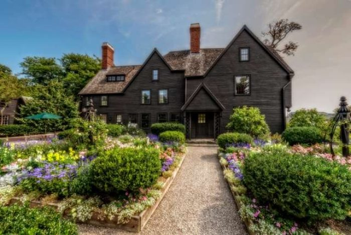 The House of the Seven Gables house and garden