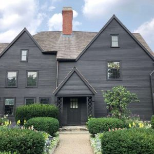 Photo of The House of the Seven Gables in July 2021
