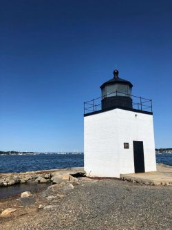 Picture of the Derby Wharf Light Station in Salem, Massachusetts