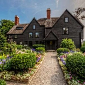 The House of The Seven Gables and surrounding gardens
