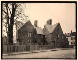 Photo of The House of the Seven Gables from Turner Street taken in 1910.