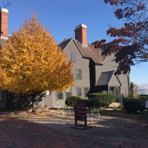 Photo of The House of the Seven Gables from fall 2020