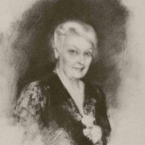 Sketch of Caroline Emmerton